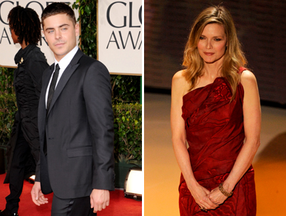 Zac Efron and Michelle Pfeiffer Couple Up for 'New Year's'