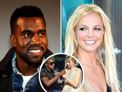Kanye West Blames Media for Britney Twitter Controversy