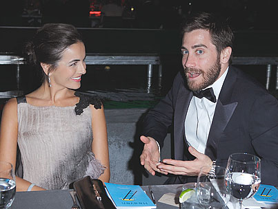 Jake Gyllenhaal & Camilla Bella 'Not Dating,'