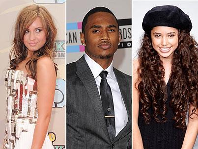 Demi Lovato vs. Jasmine V: Who Is Better for Trey Songz