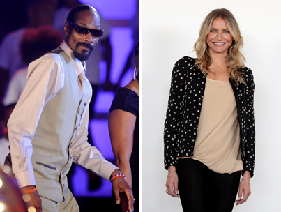 Cameron Diaz 'Probably Bought Weed' From Snoop Dogg