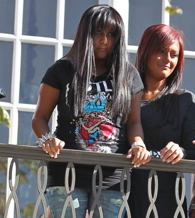 Snooki and JWoww Filming 'Jersey Shore' Spinoff Pilot