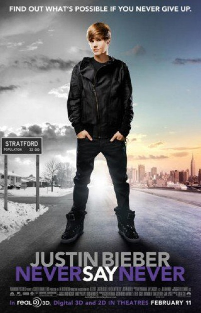 Justin Bieber's 'Never Say Never'
