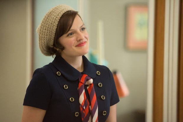 Mad Men fashion season 7 Elisabeth Moss Peggy Olson