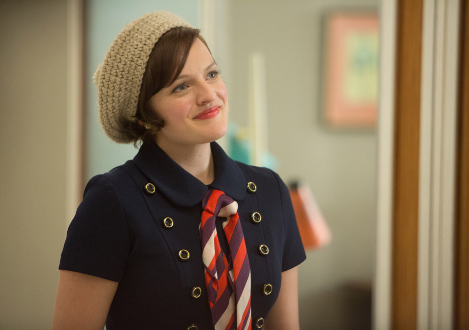 Peggy Baby Mad Men 74